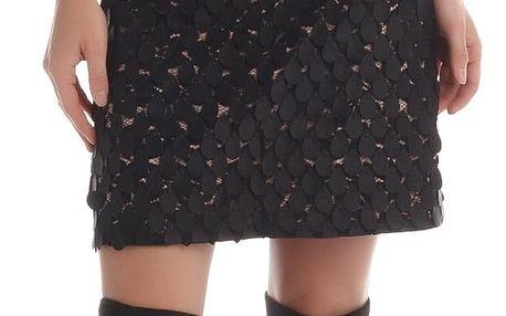 Rinascimento společenské šaty s krajkou