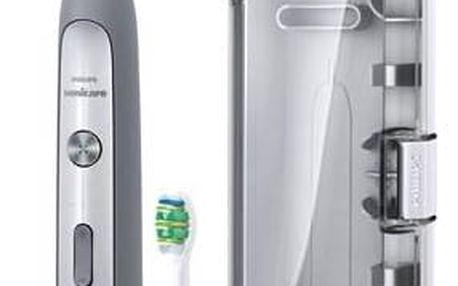 Zubní kartáček Philips Sonicare FlexCare Platinum HX9112/12 šedý + Doprava zdarma