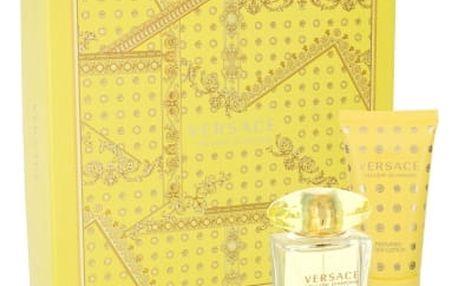 Versace Yellow Diamond 30 ml dárková kazeta dárková sada pro ženy toaletní voda 30 ml + tělové mléko 50 ml
