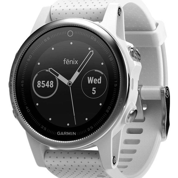 GPS hodinky Garmin Fenix 5S (010-01685-00) stříbrné/bílé + DOPRAVA ZDARMA3