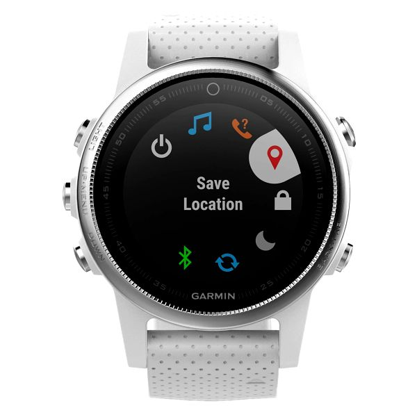 GPS hodinky Garmin Fenix 5S (010-01685-00) stříbrné/bílé + DOPRAVA ZDARMA5