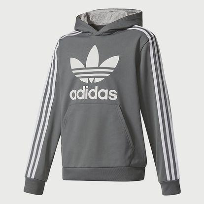 Mikina adidas Originals J TRF POLY HD Šedá