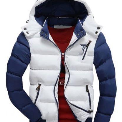 Pánská prošívaná zimní bunda