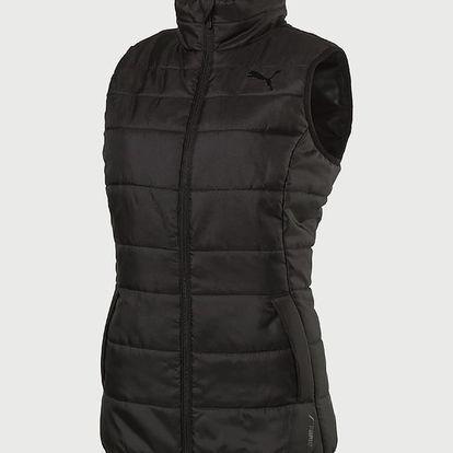 Vesta Puma Essentials Padded Vest W Black Černá