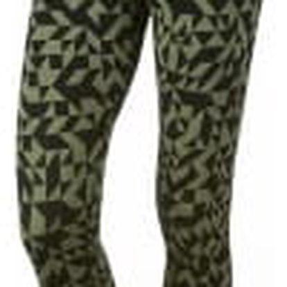 Dámské legíny Nike W NSW LGGNG CLUB TANGRAMS | 830343-387 | Černá, Zelená | XL