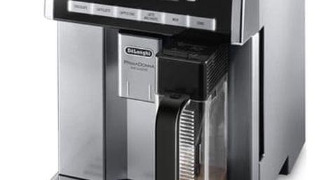 Espresso DeLonghi PrimaDonna Exclusive ESAM6900.M černé/stříbrné + DOPRAVA ZDARMA