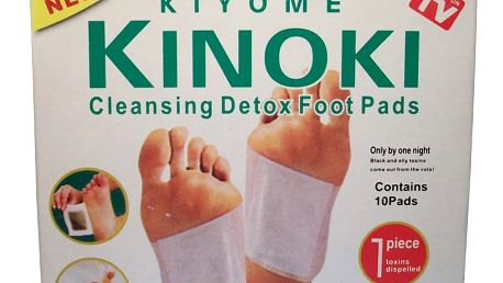 Detoxikační náplasti 100 ks