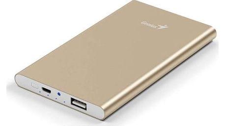 Power Bank Genius ECO-u540 5400mAh (39800016102) zlatá