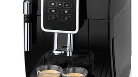 Espresso DeLonghi Dinamica ECAM 350.15B černé + dárek 2x Káva zrnková DeLonghi Kimbo Arabica 250g v hodnotě 199 Kč + DOPRAVA ZDARMA