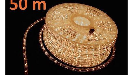 Marimex Pásek LED 50 m - 1800 minižárovek - teplá bílá - 18000116