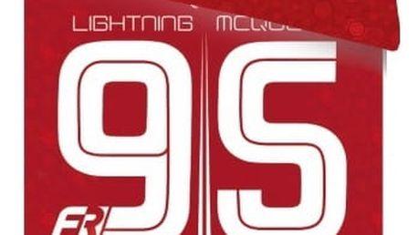 Jerry Fabrics Dětské povlečení CARS 95 RED 140x200 70x90