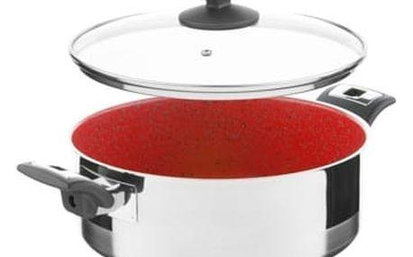 KOLIMAX CERAMMAX PRO COMFORT rendlík s poklicí 26cm 4,5l, granit červená