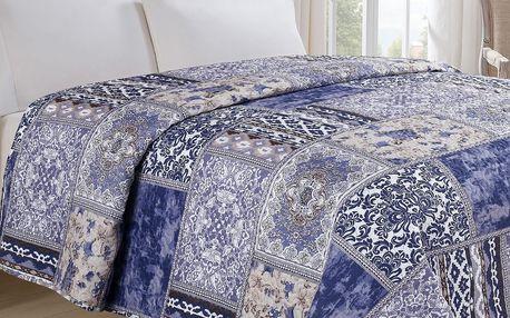 Jahu Přehoz na postel Orient modrá, 140 x 220 cm