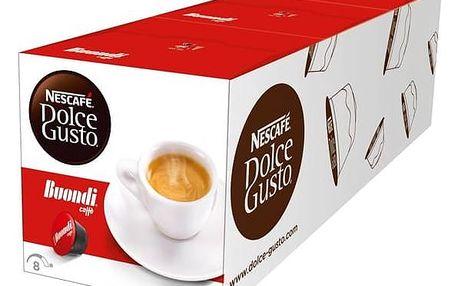 Kapsle pro espressa Nescafé Dolce Gusto Espresso Buondi 3 balení