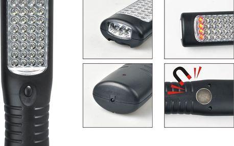 Nabíjecí LED montážní lampa do auta