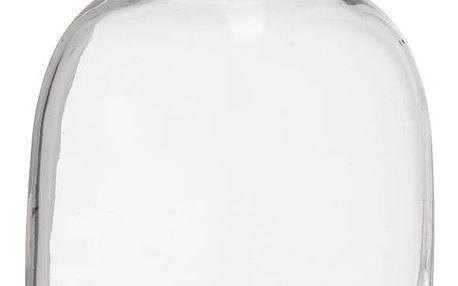 MADAM STOLTZ Skleněná váza, lahev Kai, čirá barva, sklo