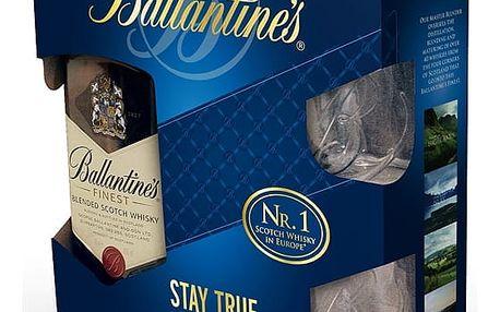 Ballantines Finest 0,7l 40% + 2x sklo