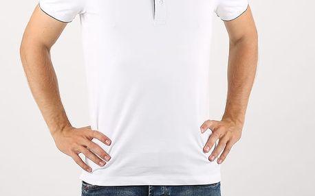 Tričko GAS Ralph S Det Sp Bílá