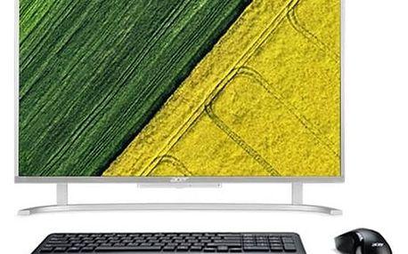 Počítač All In One Acer Aspire AC22-720 (DQ.B7AEC.002) stříbrný + Doprava zdarma