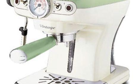 Espresso Ariete Vintage ART 1389/14 zelené + DOPRAVA ZDARMA
