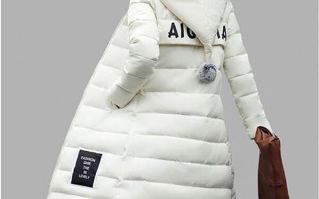 Dlouhá zimní bunda Oriana - 6 barev