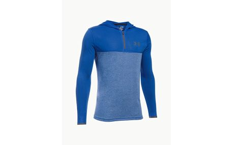 Mikina Under Armour Threadborne 1/4 Zip Hood Modrá