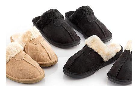Pantofle Relax Fur