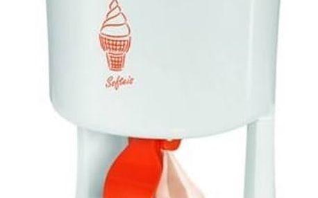 Zmrzlinovač Clatronic ICM 3594 bílý/oranžový + Doprava zdarma