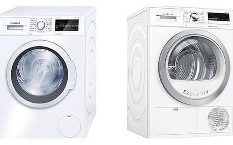 Set výrobků Bosch WAT24460BY + WTH85290BY + DOPRAVA ZDARMA