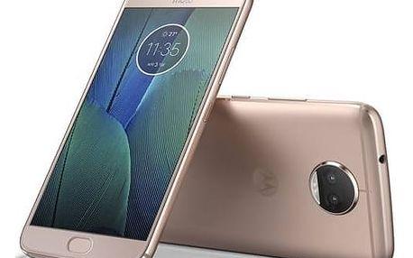 Mobilní telefon Motorola Moto G5s Plus Dual SIM (PA6V0099CZ) zlatý + Doprava zdarma
