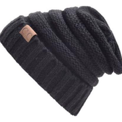 Stylová zimní unisex čepice
