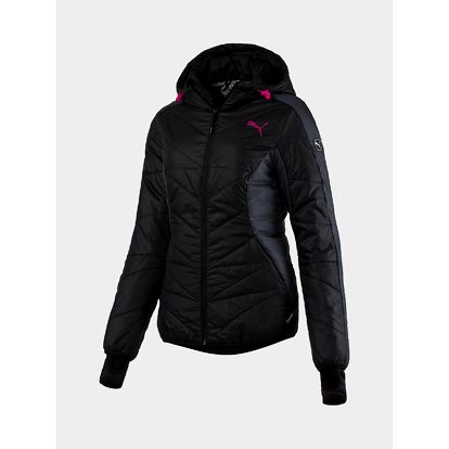 Bunda Puma ACTIVE Norway Jacket W Black-Ebony Černá