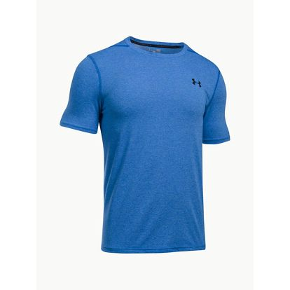 Tričko Under Armour Threadborne Fitted SS Modrá