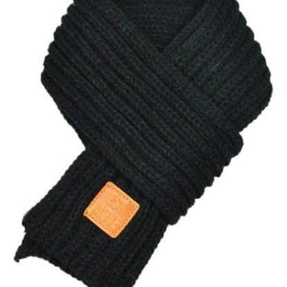 Teplá pletená šála - 7 barev