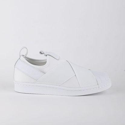 Boty adidas Originals SUPERSTAR SlipOn Bílá