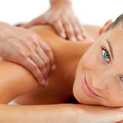 Partnerská edukační masáž celé zadní části těla: 3× 60 minut