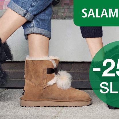 25% sleva na obuv a kabelky ze Salamanderu