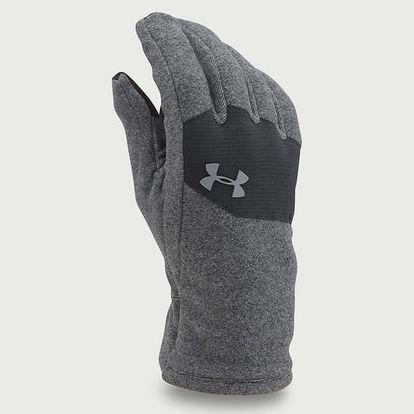 Rukavice Under Armour Coldgear Men's Core Fleece Glove Šedá
