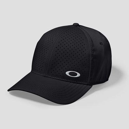 Kšiltovka Oakley GOLF PERF HAT 2.0 Blackout Černá