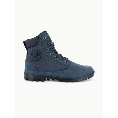 Boty Palladium Pampa Sport Cuff Wpn Dark Denim/Total Eclipse Modrá