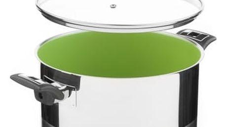 KOLIMAX CERAMMAX PRO COMFORT hrnec s poklicí 26cm 8,0l, zelená