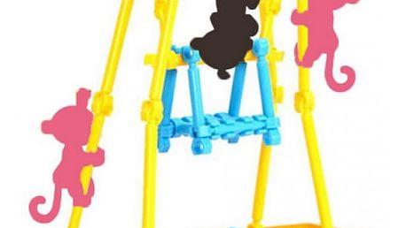 Hřiště pro Interaktivní opičky Happy Monkey 80 ks