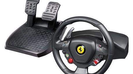 Volant Thrustmaster Ferrari 458 Italia pro PC, Xbox 360 + pedály (4460094) černý/červený + DOPRAVA ZDARMA
