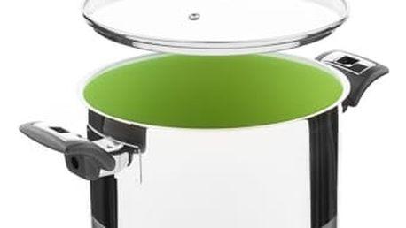 KOLIMAX CERAMMAX PRO COMFORT hrnec s poklicí 22cm 5,5l, zelená