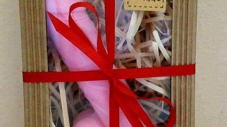 Dekorační mýdlo v dárkové krabičce, různé barvy a vůně