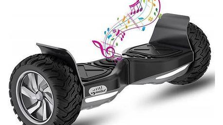 Kolonožka Rover Offroad - černá Reflexní sada 2 SportTeam (pásek, přívěsek, samolepky) - zelené + Doprava zdarma
