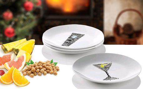 Sada dezertních talířů italské značky Gran Chef