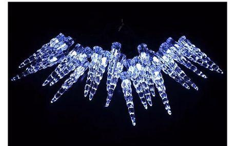 Osvětlení vánoční - řetěz solární s ledovými rampouchy - 18000043