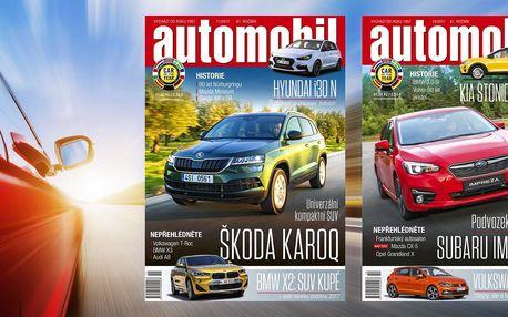 Roční předplatné časopisu Automobil 2018