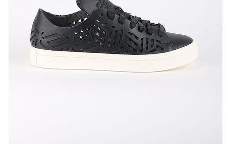 Boty adidas Originals COURTVANTAGE CUTOUT W Černá